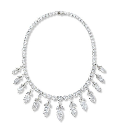 A magnificent diamond necklace, by Van Cleef & Arpels