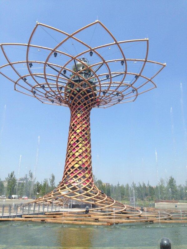 L'arbre de vie, ExpoMilano2015, 14/07/15