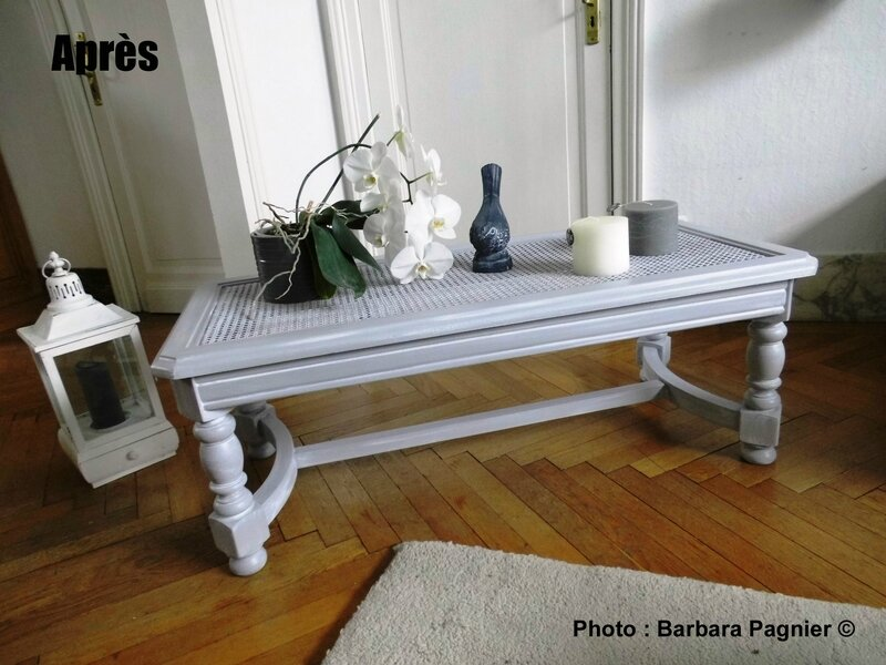 table basse grise ambianceBP