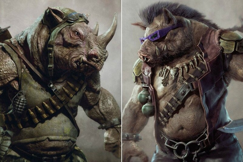 Les mutants ennemis : Be-bop et Rocksteady