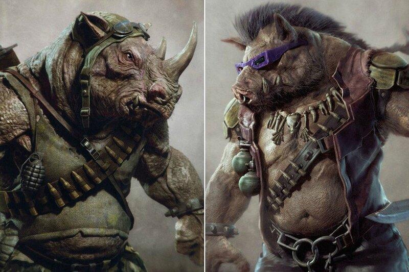 Les mutants ennemis : Be-bop et Rocksteady