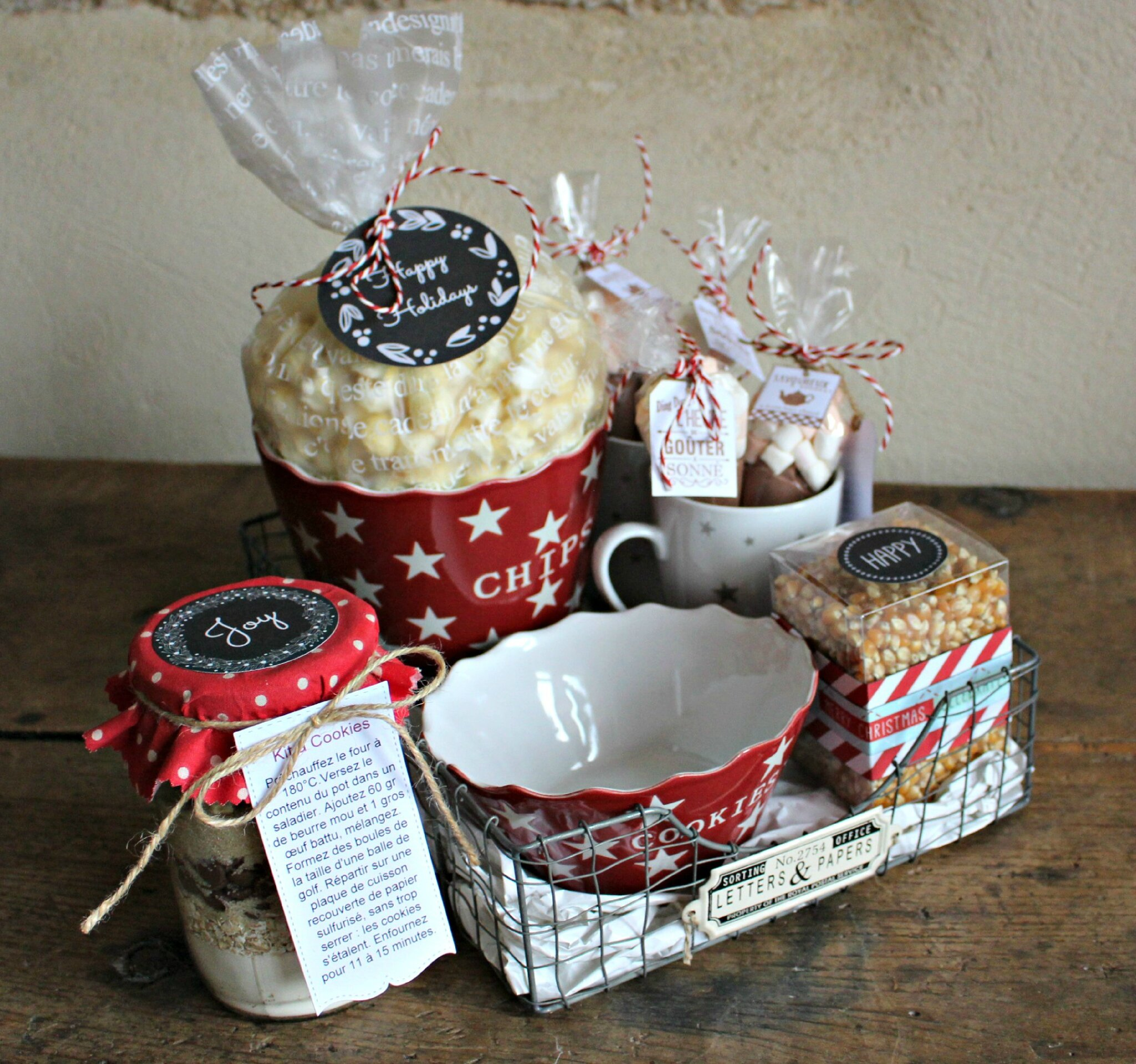 Panier gourmand keep calm and eat some sweets is de - Panier gourmand noel fait maison ...