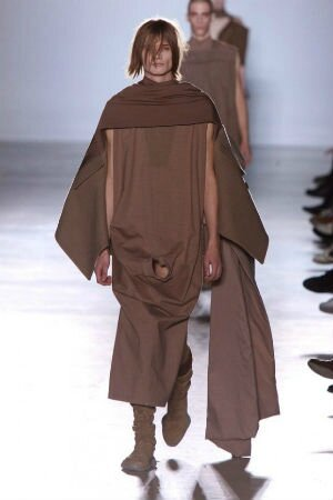 rick owens fashion week collection automne-hiver