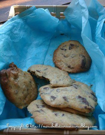 cookies banane amande choco1