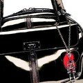 Luella, Sac avec grigri squelette en mtal
