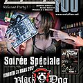 Metallian magazine: numero 100! fetez le numero 100 au black dog (paris)/ release party for #100 (@ paris)- 31 / 03 / 2017