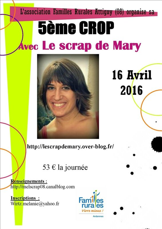affiche projet crop MARY 2016