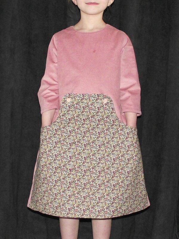 Louisa Dress Compagnie M 1000raies rose 1
