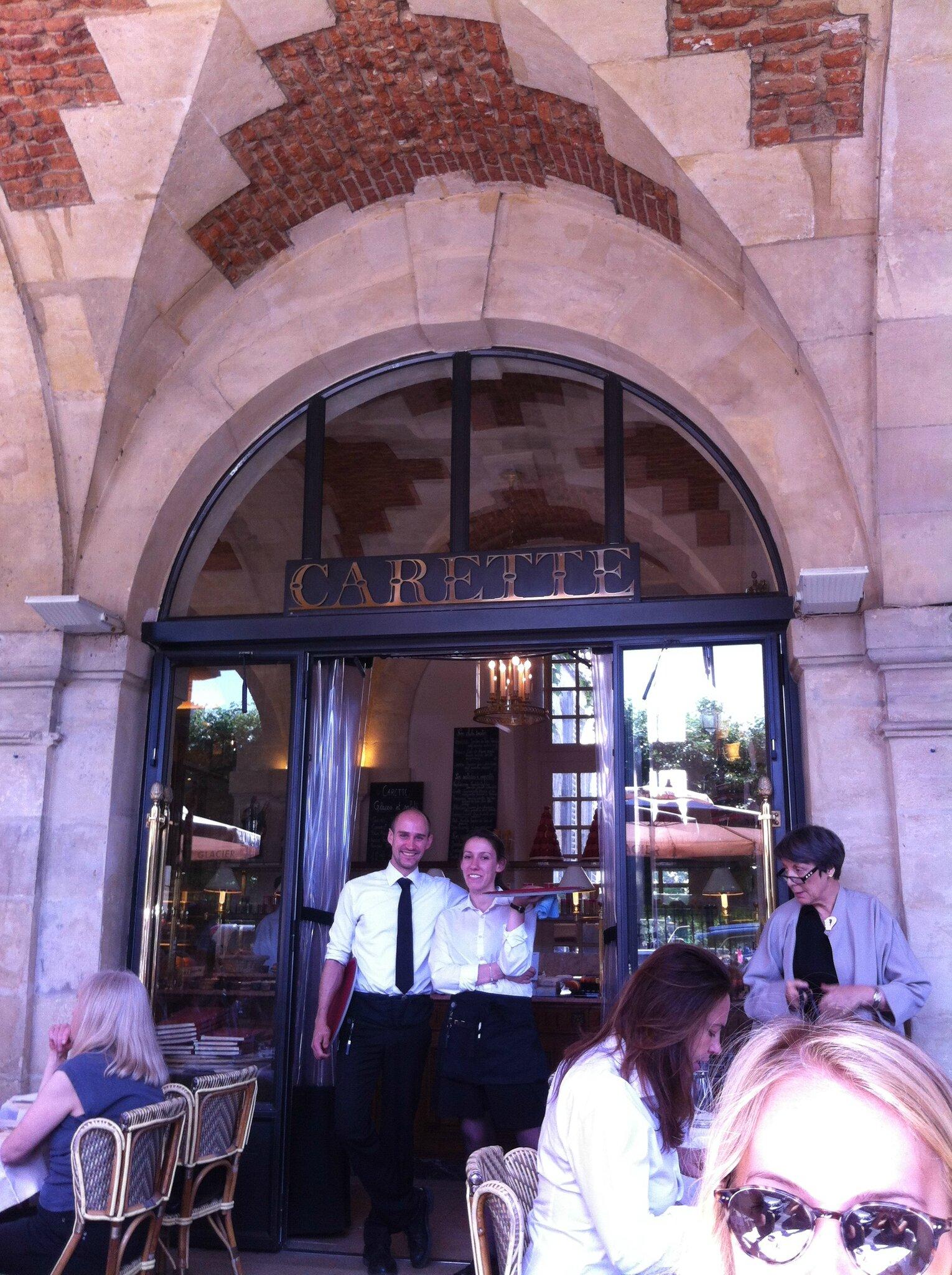 Carette, place des Vosges: le charme discret de la bourgeoisie parisienne