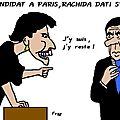 Fillon candidat  Paris , Rachida Dati s'accroche . .