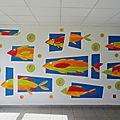 Les poissons envahissent le lycée claude monet.