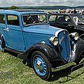 Fiat 508 b balilla berline 4 portes 1934-1937