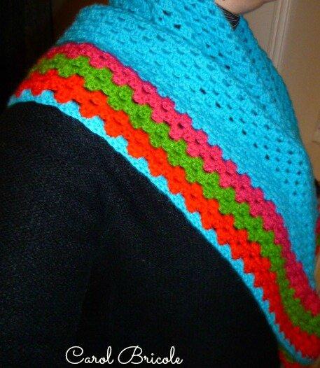 Half granny multicolore 1