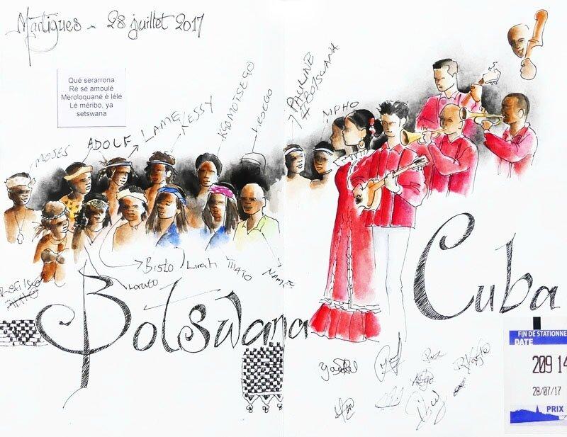 Festival de Martigues : Botswana & Cuba