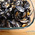 Moules au roquefort 