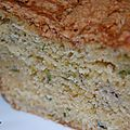 Cake banane-courgette