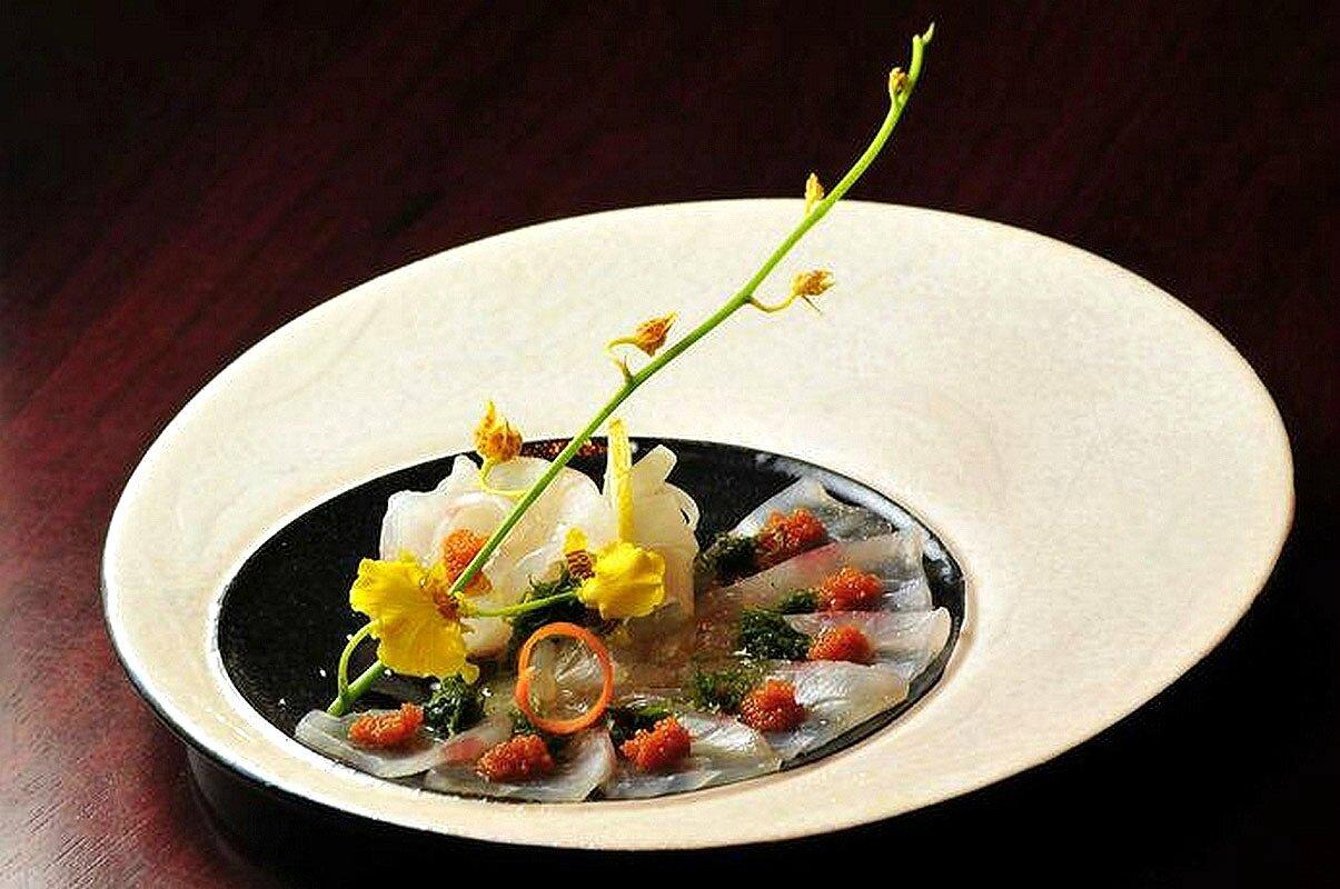 Si vous ne savez pas comment dites le avec des visions gourmandes - Decoration d assiette gastronomique ...