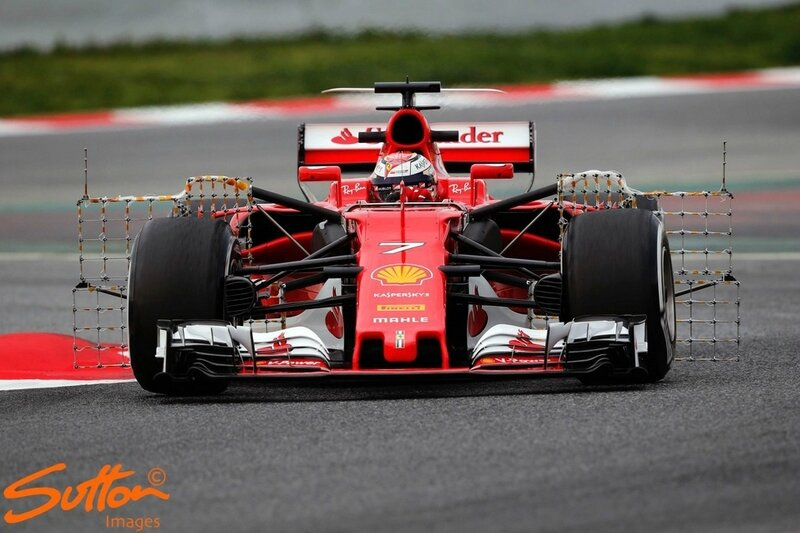 2017-Barcelone test-SF70H-Raikkonen