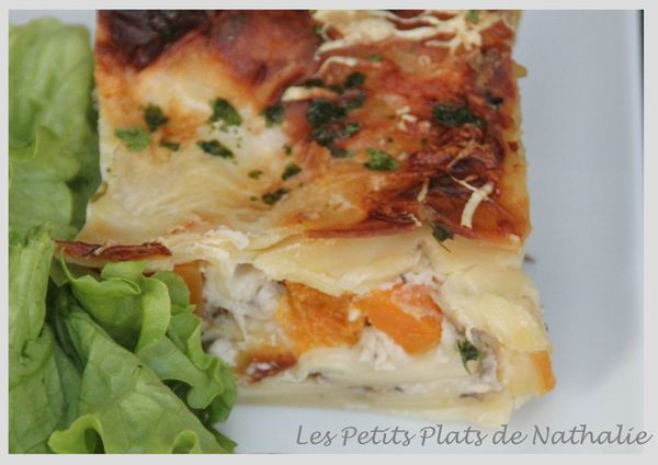 lasagne d'automne