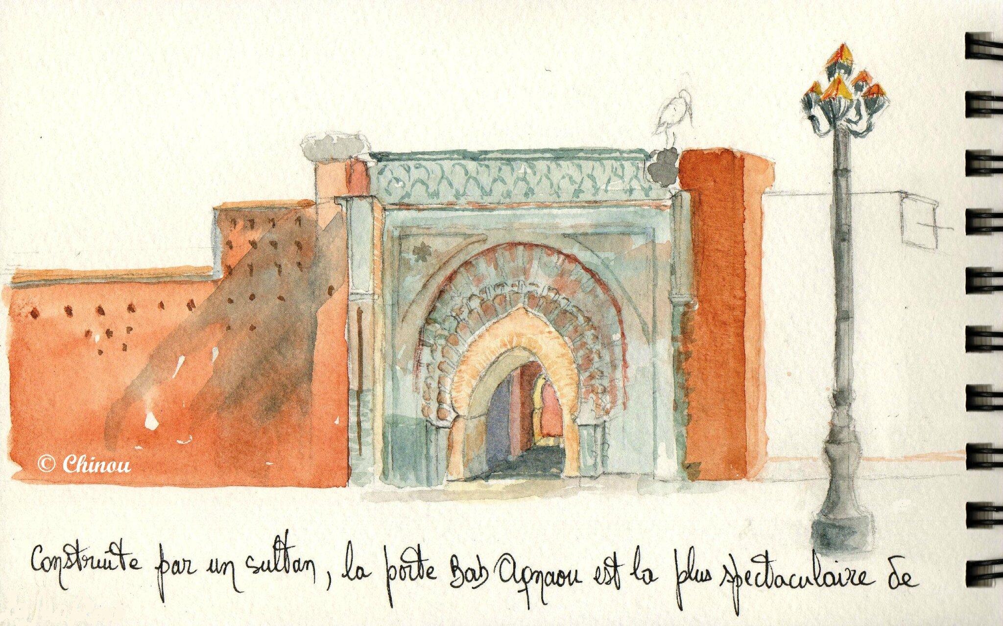 Porte Bab Agnaou
