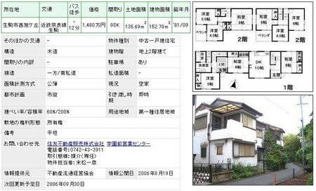 Ikoma_2_attached_houses