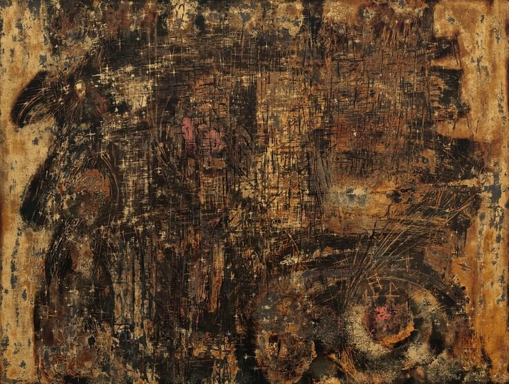 Nguyễn Gia Trí (1908-1993), Abstract Composition, 1960
