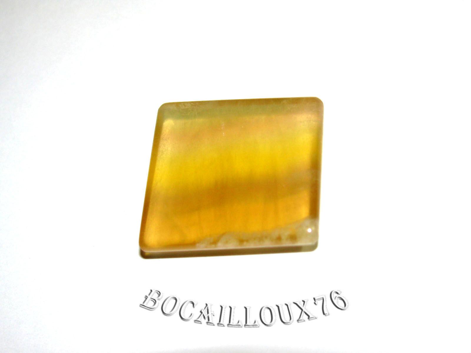 CABOCHON 23x22x5,5 FLUORINE 4 Carré