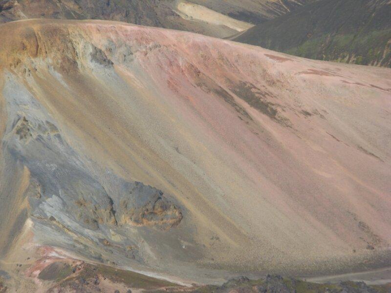the fumaroles' work