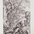 Salvator rosa (1615-1673), album de divers sujets. 1656-1664.