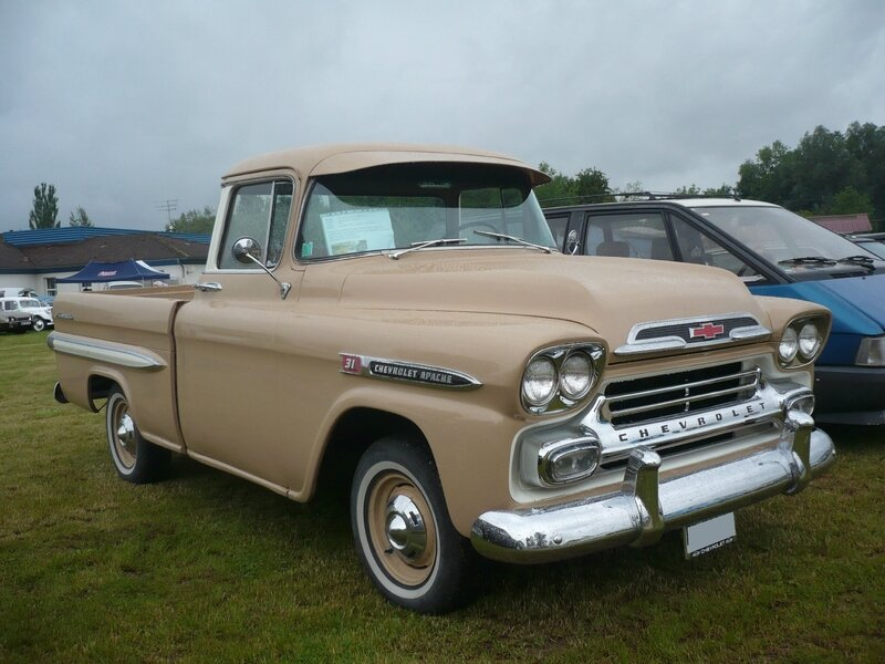 CHEVROLET Apache 3100 Fleetside pick-up 1959 Madine (1)
