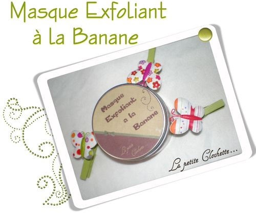 masque exfoliant banane