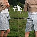 Jupe portefeuille