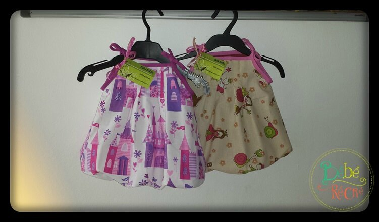 Robes pour bébés!!