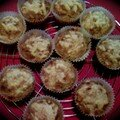 Muffins au ble complet et fromage ou cheesy muffins