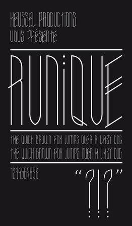 Runique_specimen