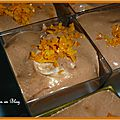 Mousse au chocolat parfumee a l'orange