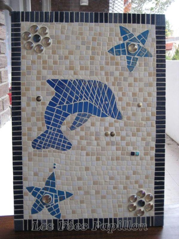 Mosaique meuble de salle de bain verofeepapillon for Meuble mosaique