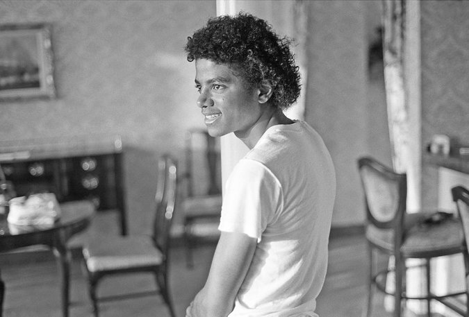 Michael Jackson et Todd Gray, photoshoot à Atlanta, 22 juillet 1981