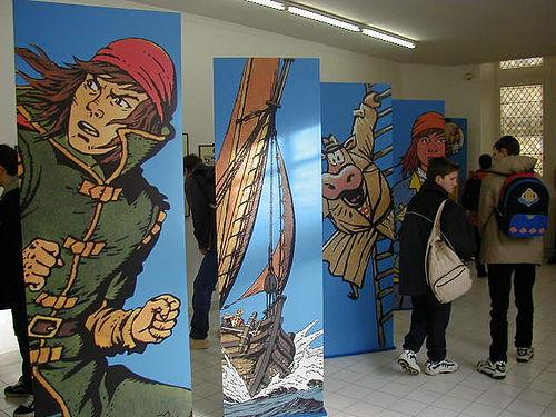 Expo consacrée aux De Moor (père et fils) - Angoulême