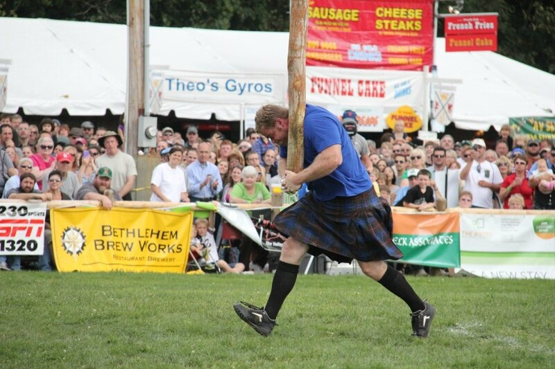 celtic driving caber