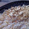 Porridge aux flocons d'avoine - à partir de 9 mois