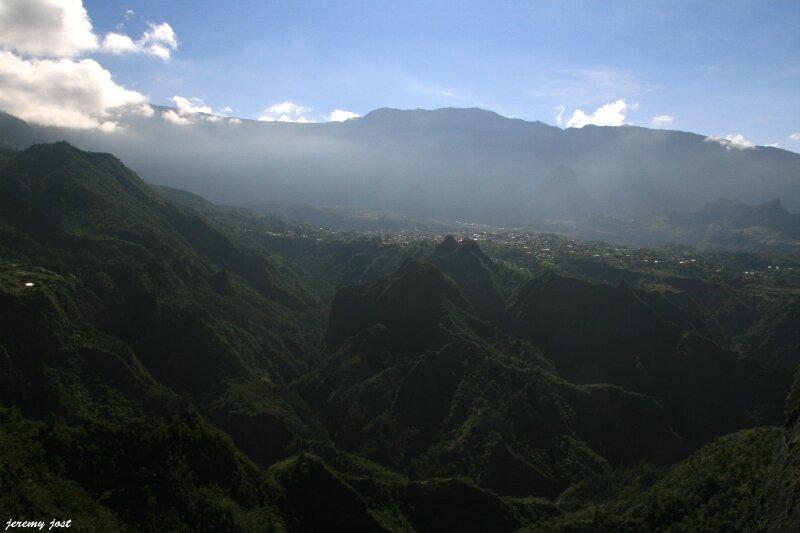 cilaos depuis depart canyon