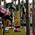 Le carrousel du Forum des Halles.