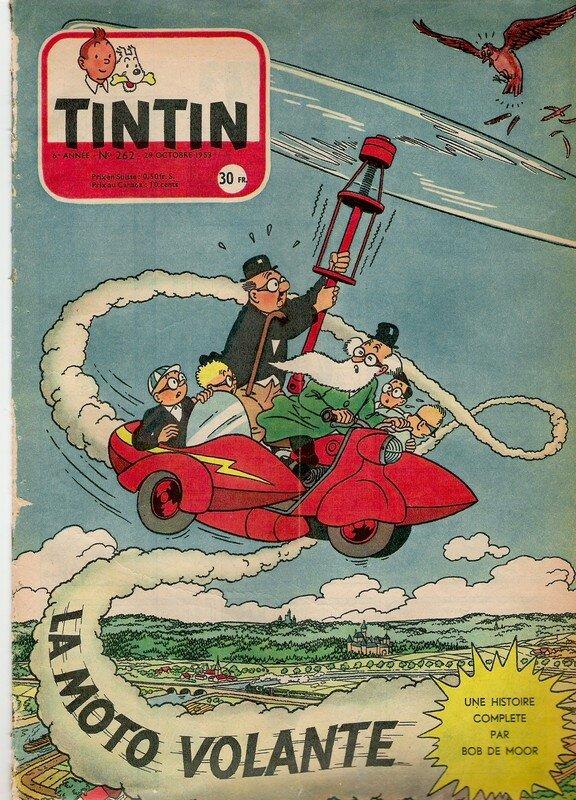 1953 - M. Tric : La moto volante