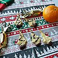 Biscuits de noël à l'orange et au gingembre