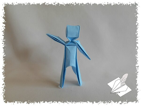origami homme facile