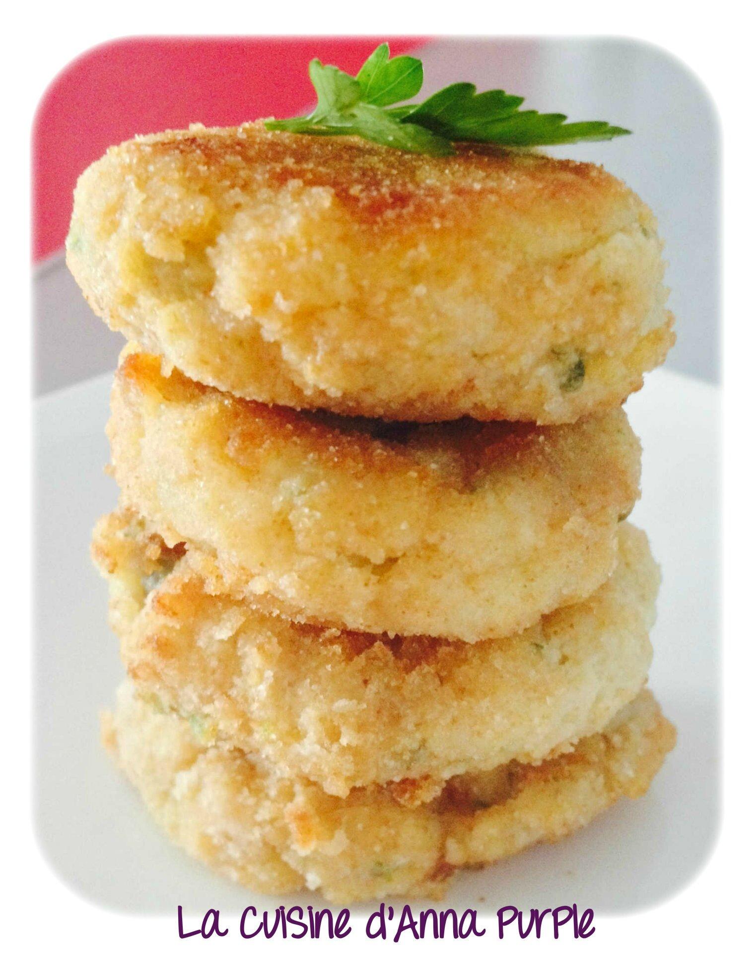 CroQuettes de Cabillaud ,Pommes de terre et Persil