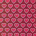 Coeurs rose