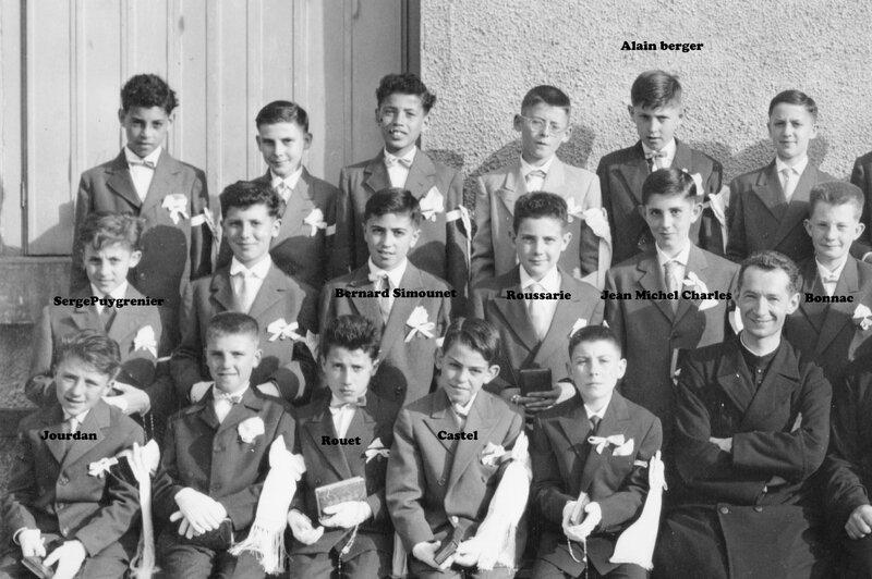 communions 01 noms 1958