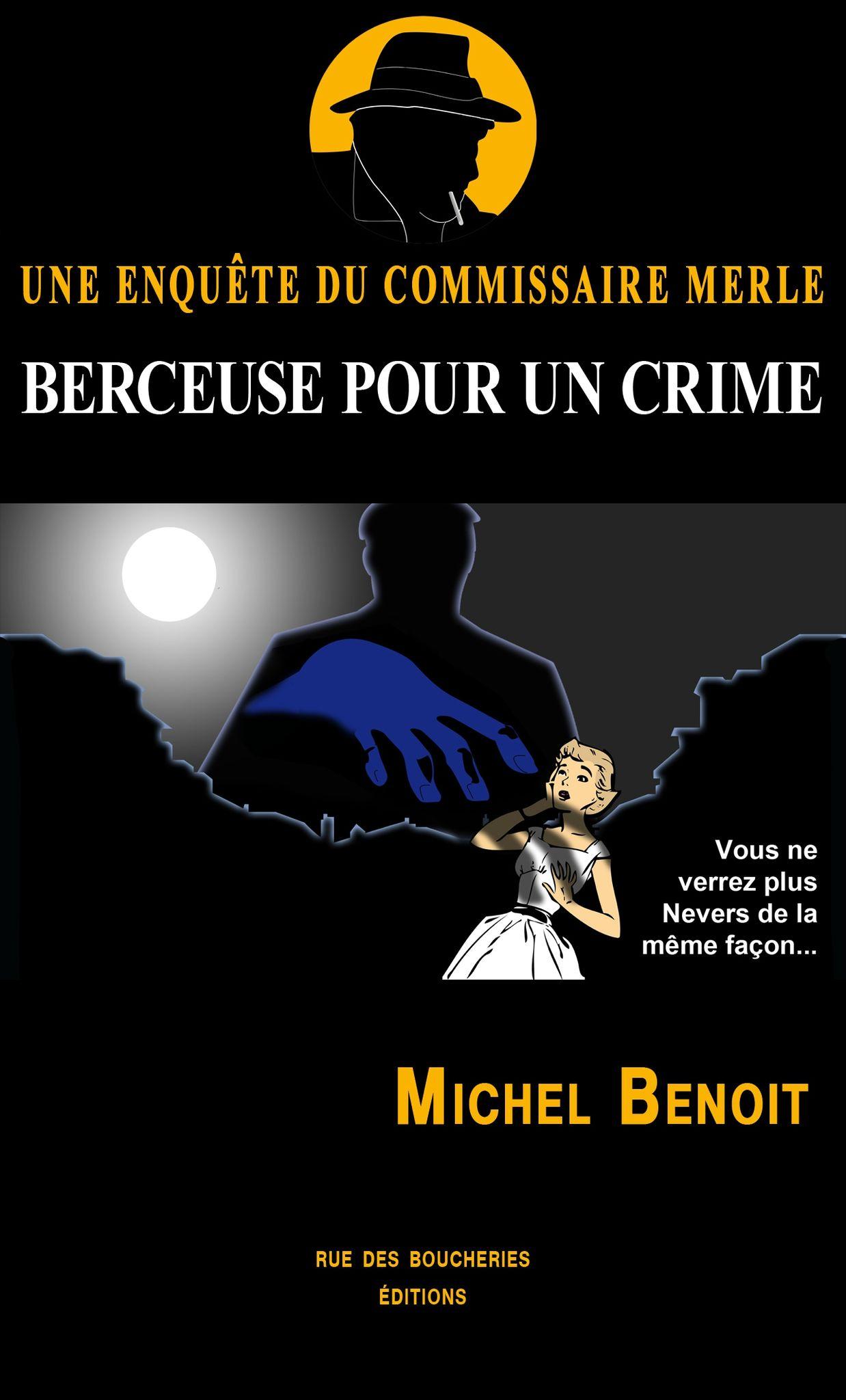 Couverture M�lodie pour un crime Une enqu�te du commissaire Merle